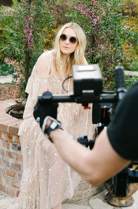Behind the Scenes with Dakota Fanning