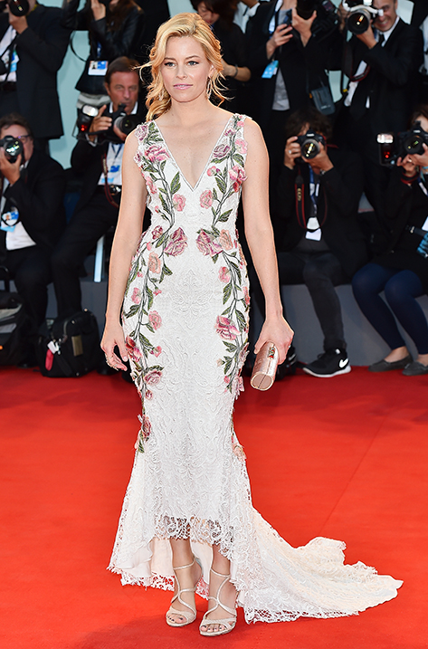 Elizabeth Banks wearing Feign and carrying Charm