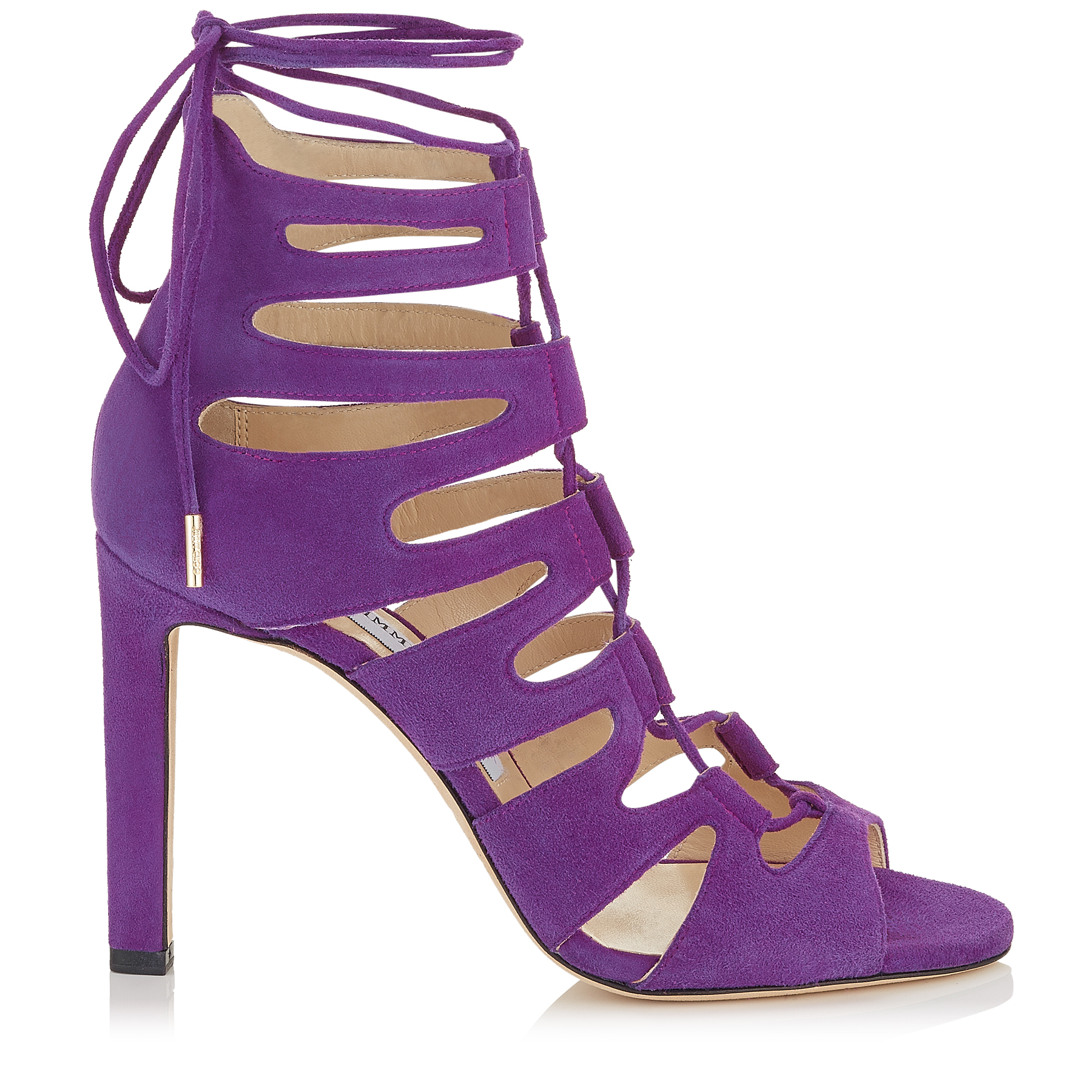 HITCH 100 Madeline Suede Strappy Sandals