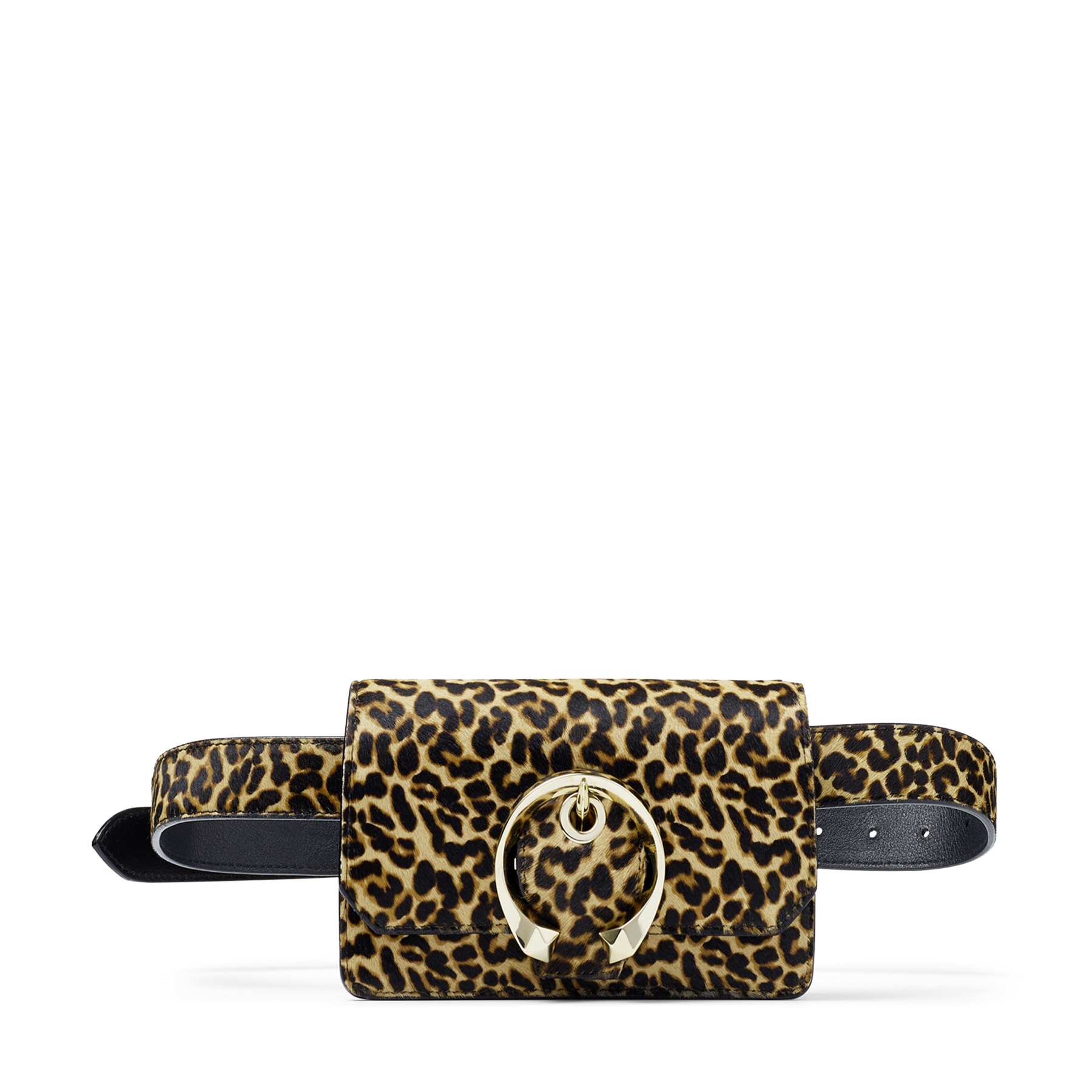 The MADELINE BELT bag in leopard print pony is a modern-classic. Offering an abundance of meticulous detailing, MADELINE hosts a unique sculpted shape. The focal statement metal buckle is beautifully moulded into a circular shape. Perfect for accentuating any day or after-dark look.