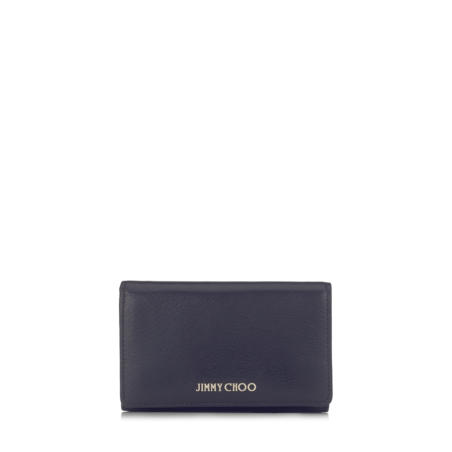 MARLIE Navy Soft Grained Goat Leather Continental Wallet