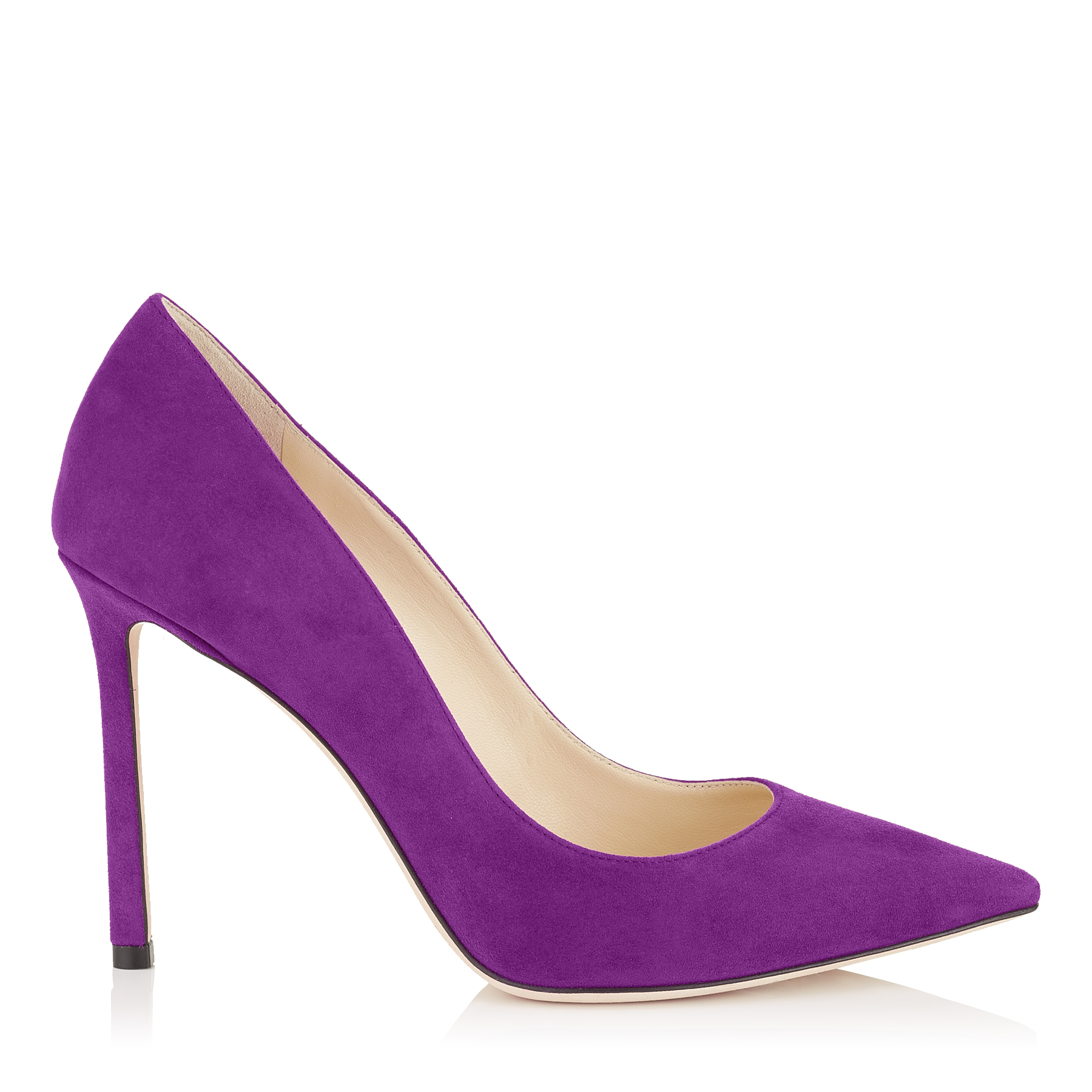 ROMY 100 Madeline Suede Pointy Toe Pumps