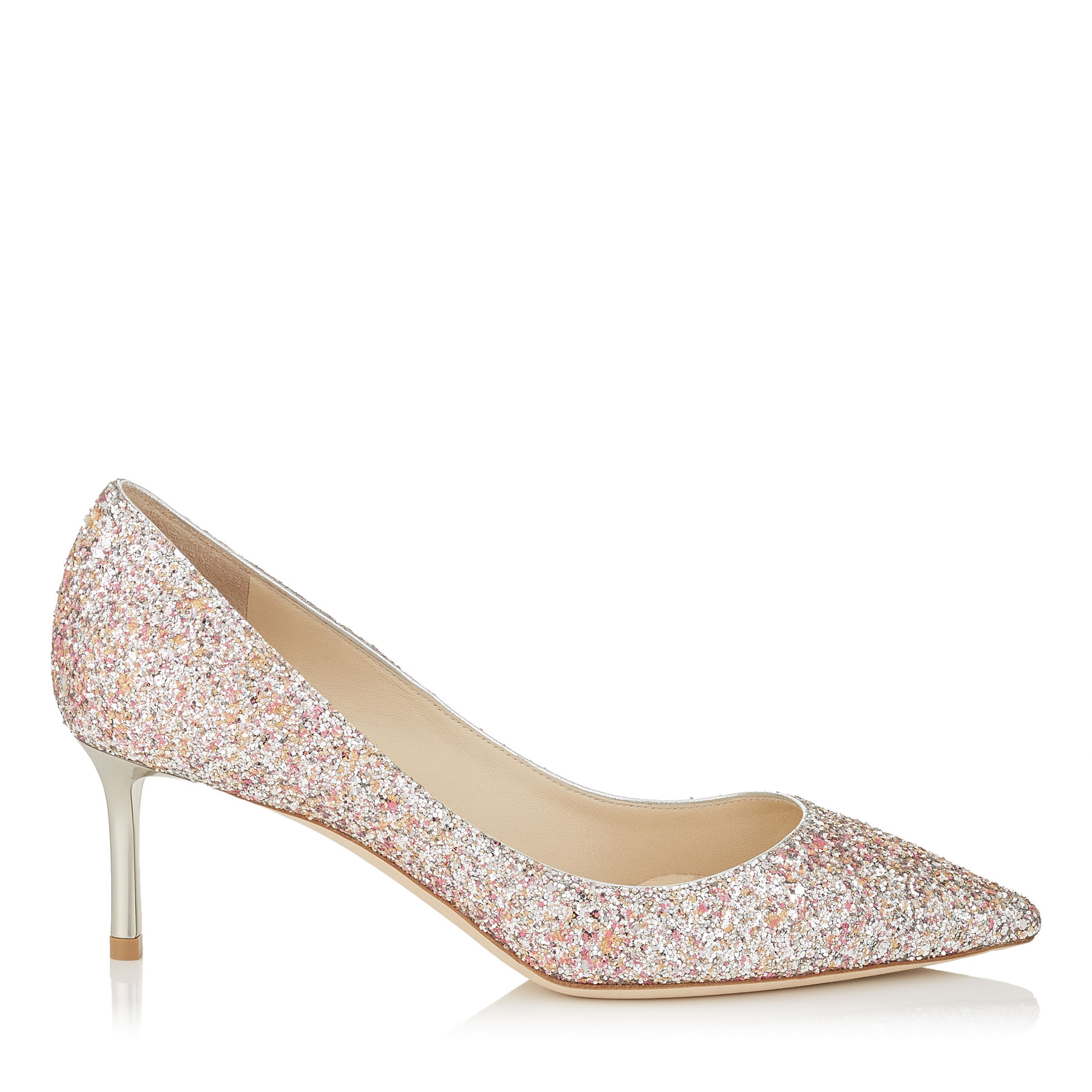 ROMY 60 Camellia Mix Speckled Glitter Pointy Toe Pumps