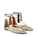Jimmy Choo DUSTI FLAT - image 3 of 5 in carousel