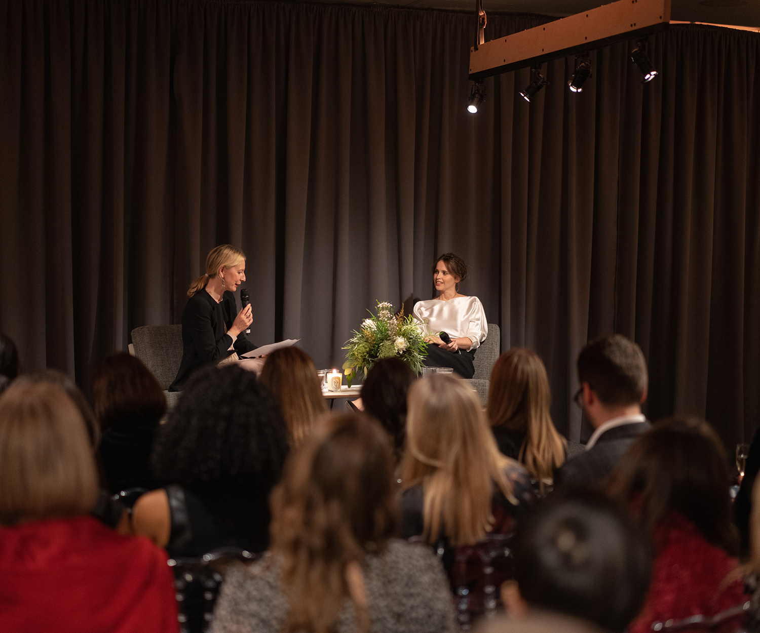 Felicity Jones in conversation with Sarah Bailey