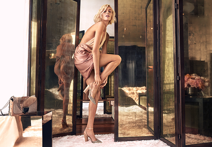 The Jimmy Choo Spring Summer 2018 campaign