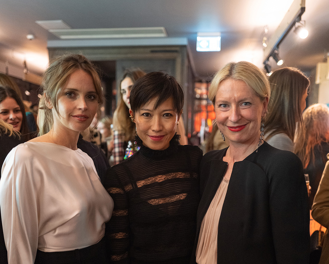 NET-A-PORTER Incredible Women Event with Felicity Jones