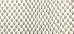 Feather Embossed Leather