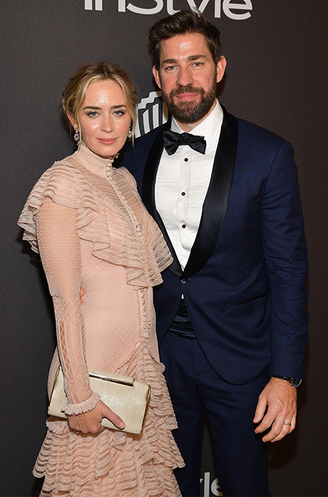 Emily Blunt carrying CAY