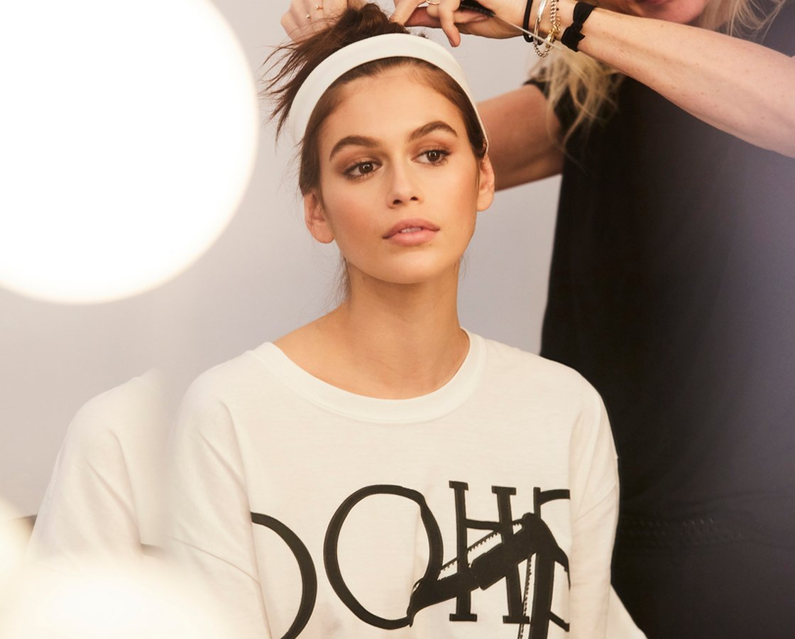 Behind The Scenes with Kaia Gerber