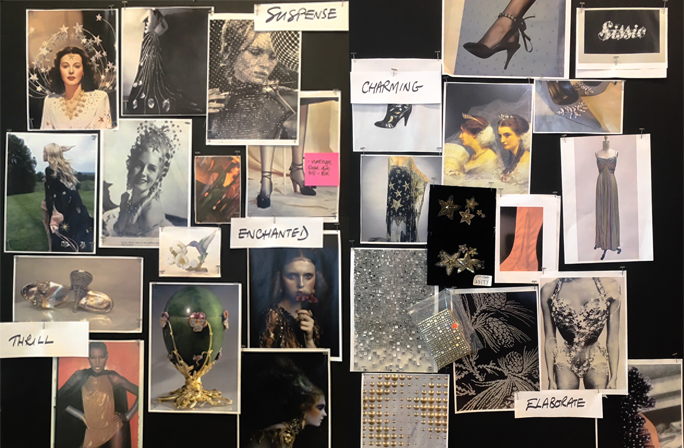 Creative Director, Sandra Choi's Jimmy Choo Cruise 2019 Collection Moodboard